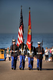Colors to Honor Troops and Country
