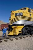 Rio Grande Workhorse and Train Nut