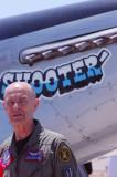 Mr Chuck Hall and his P-51