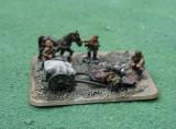 Russian Dead cart horse