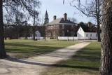 6.  The George Wythe house across the Palace green.