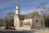 14.  The Bruton Parish church.
