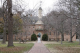 22.  The Christopher Wren building at William & Mary College.