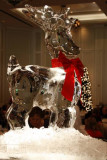 24.  Ice sculpture at the Christmas Day brunch at the Lodge.