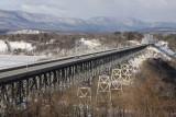 3.  The Rip Van Winkle bridge across the Hudson.