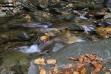 10.  The stream bed at the foot of Moss Glen Falls.