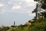 7.  On Little Round Top hill.