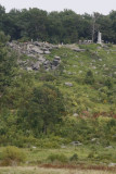 9.  The face of Little Round Top.