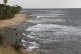 6.  The shoreline from Rincon Lighthouse.