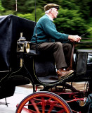 horse and carriage speeding by    : )  Glendalough