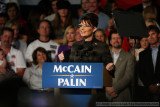 Republican Vice Presidential nominee Sarah Palin Campaign Rally