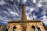 Baltimore's Washington Monument in HDR