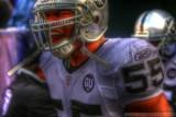 Oakland Raiders LB Jon Alston in HDR