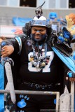 Carolina Panthers superfan - Catman
