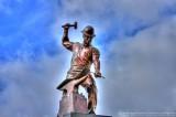 Boilermaker Sculpture in front of Ross-Ade Stadium - West Lafayette, IN