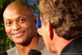 Eddie George - 1995 Heisman Trophy winner - interviews former NFL quarterback Joe Theisman