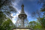 Petrin Tower in HDR