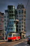 Prague's Dancing Building in HDR