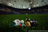 NFL Huddles: Miami Dolphins at Minnesota Vikings at the Metrodome
