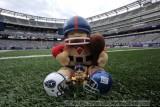 NFL Huddles: New York Giants huddles figures at the New Meadowlands Stadium