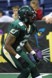 San Jose SaberCats defensive back Clevan Thomas
