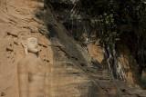 Rock statues near Gwalior Fort