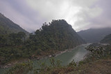 Landscapes on the way to Pokhara