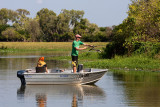 Fishing on the Mary River, Kakadu