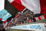 Fans in the Philips Stadium