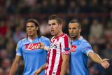 Cavani, Strootman and Mesto