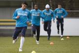 Carlos Salcido, Edison Méndez, Jefferson Farfán and Ibrahim Afellay