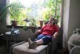 Cris-tofer relaxing, too