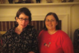 True friends! At Cris' house.