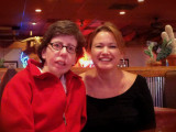 Dinner at Lonestar with good friend Theresa