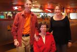 John, Barb and Theresa at Lonestar... Yummy dinner and good times!