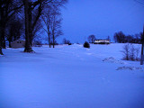Where's our driveway?!!! It runs down center of pic out towards mailbox and street. (2/2/11)