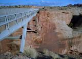 A Bridge Across Canyon Walls