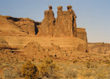 Arches 'Three Sisters' Rock Formation