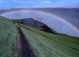 Rainbow at Dentifoss        Iceland