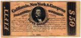 $50 Bond Certificate