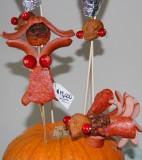Sarah Palin and beloved turkey (detail)