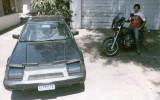 My 84 Prelude and 81 CB900 Custom