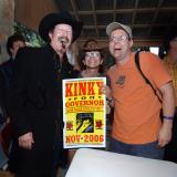 5/4 06 Love, the Gov. Kinky Freedman, candidate