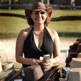 5 12 06 Aussie Boat Hats, Joan
