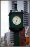 Clock outside Union Station