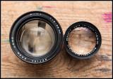 Reflex Zoom 9-28mm f1.1 8mm movie lens Front Element
