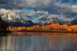 Colorful Morning at Oxbow Bend