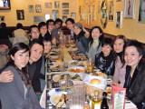 Frances's B-dinner on 26.01.2008