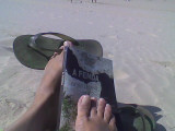 080827 praia mata caparica gracinda
