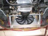 radiator and fan mount